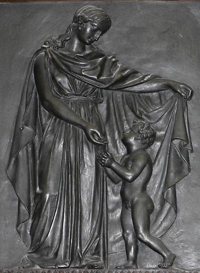 Bas-relief. Pierre Simart.