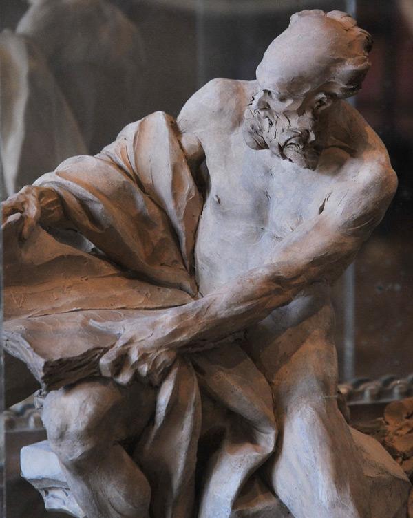 Saint Jérôme. Nicolas Sébastien Adam