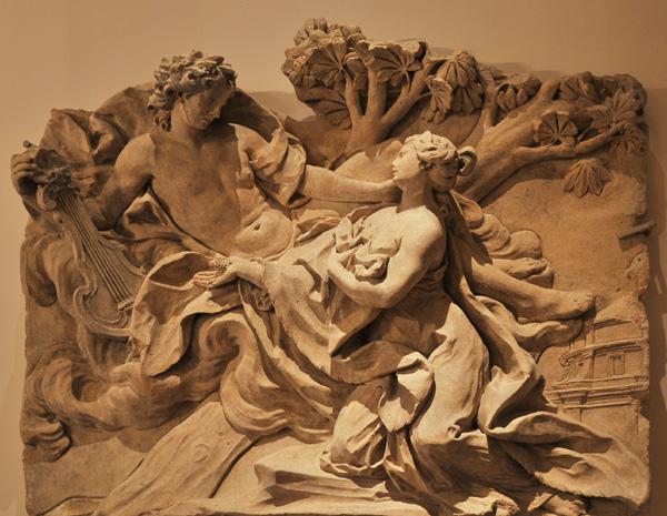Apollon et la cibylle de Cumes. Nicolas Sébastien Adam