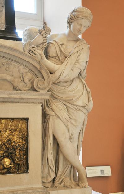 Monument funéraire de Henri de Longueville. François Anguier