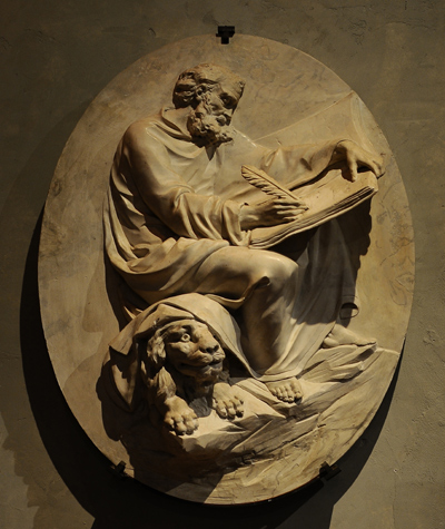 Saint Marc Evangéliste. Anonyme.