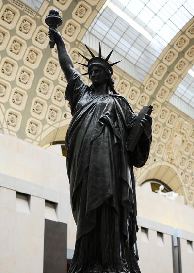 La Liberté. Auguste Bartholdi.