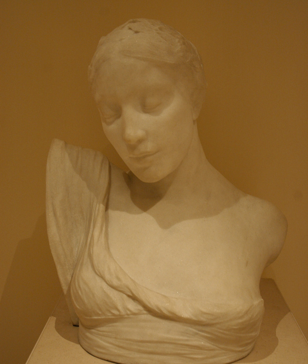 Buste de femme. Albert Bartholomé.