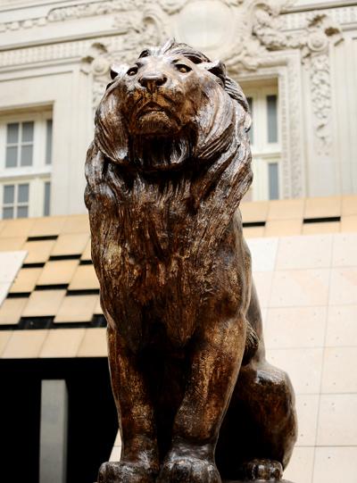 Lion. Antoine Barye.