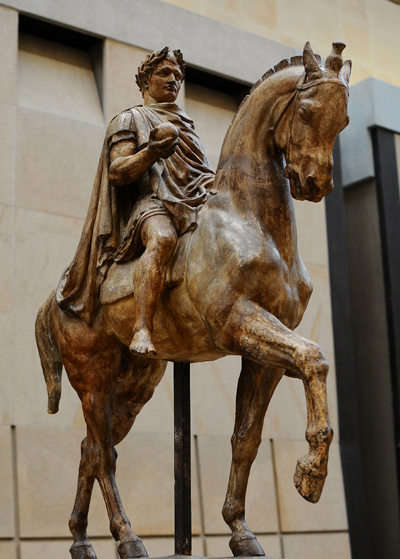 Napoléon à cheval. Antoine Barye