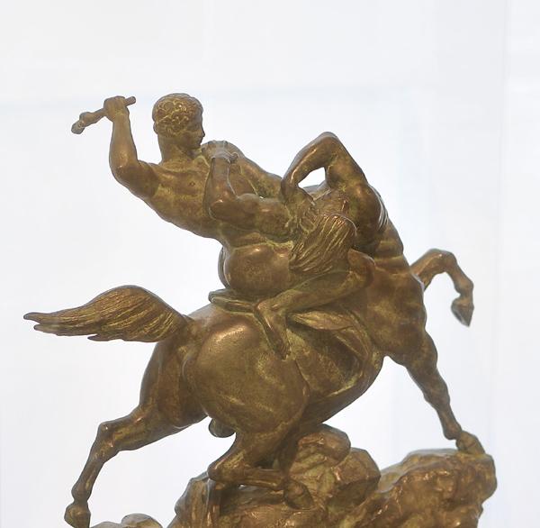 Tésée combattant le Centaure Biénor. Antoine Barye