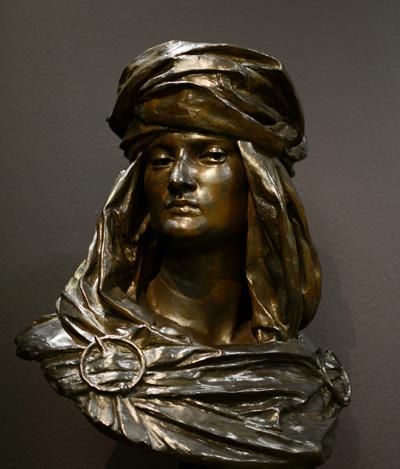 Femme arabe. Jules Blanchard.
