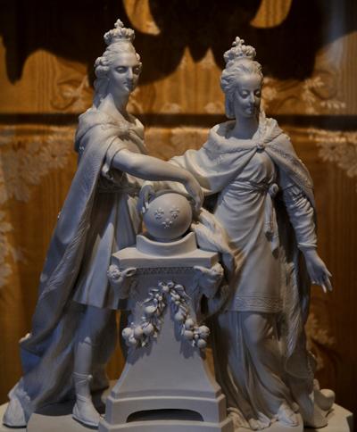 Accession au trône Louis XIV. Louis Simon Boizot.