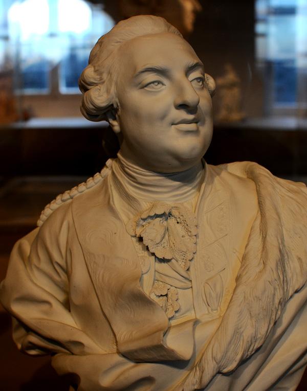 Louis XVI. Simon Boizot.