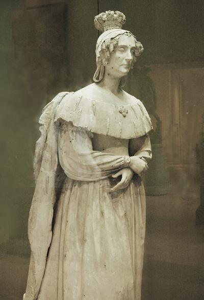 Marie Amélie, reine de France. François Bosio.
