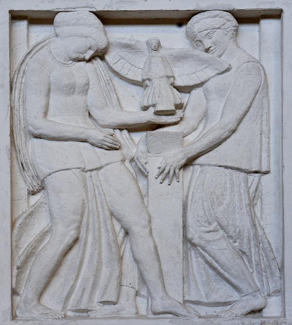 L'Architecture et la Sculpture. Antoine Bourdelle.