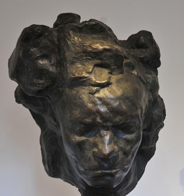 Bethoveen. Antoine Bourdelle.