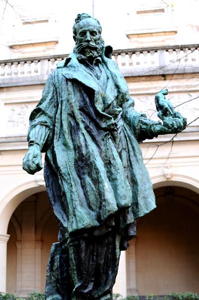 Carpeaux au travail. Antoine Bourdelle.