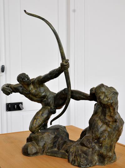 Erakles Archer. Antoine Bourdelle.