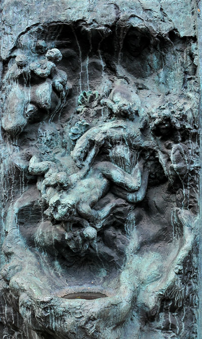 Fontaine inachevée. Antoine Bourdelle.