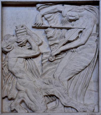 La Musique. Antoine Bourdelle.