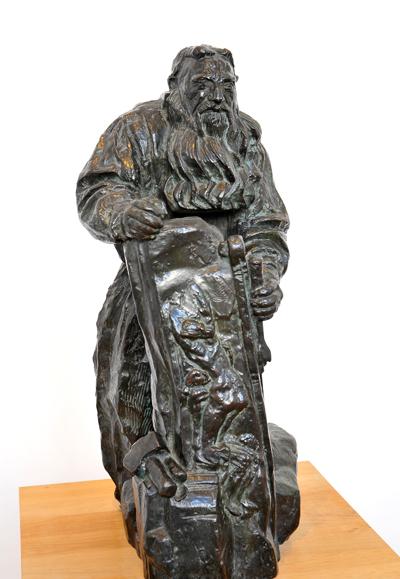 Rodin au travail. Antoine Bourdelle.