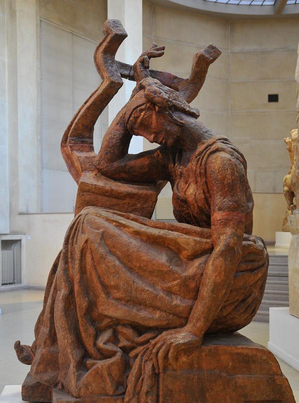 Sapho. Antoine Bourdelle.
