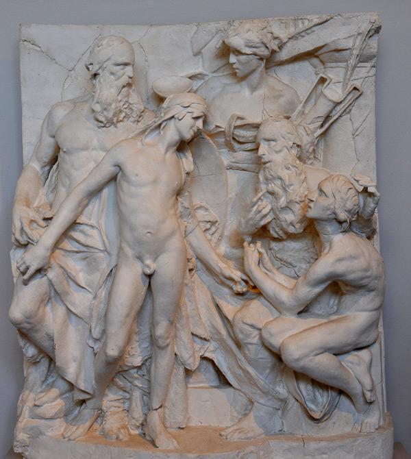 Télémaque, Pylos Nestor. Antoine Bourdelle.