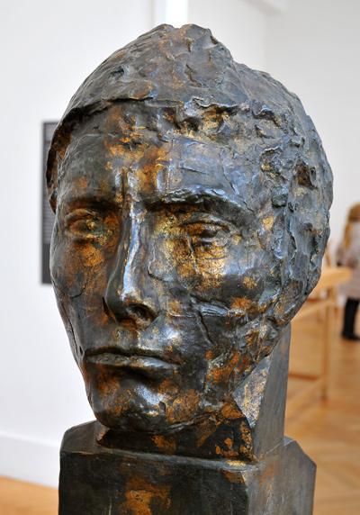 Tête d'Apollon. Antoine Bourdelle.