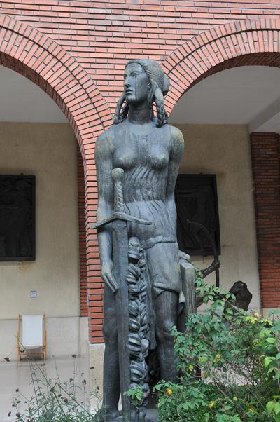 La Victoire. Antoine Bourdelle.