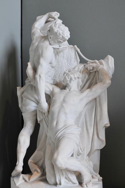 Le Martyr de Saint Barthélemy. Charles Antoine Bridan.