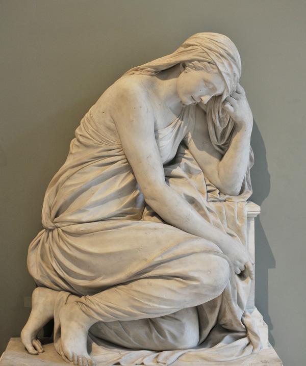 Pleureuse ou La Douleur. Ignace Broche.
