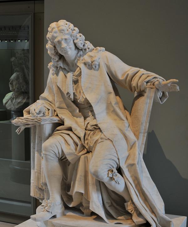 Molière. Jean Caffieri.