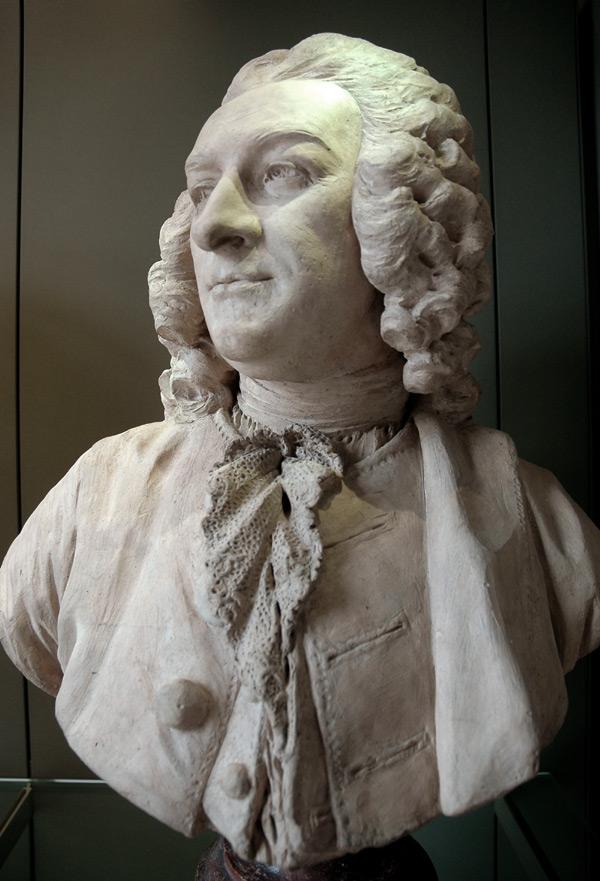 Nivelle de la Chaussée. Jean Jacques Caffieri.