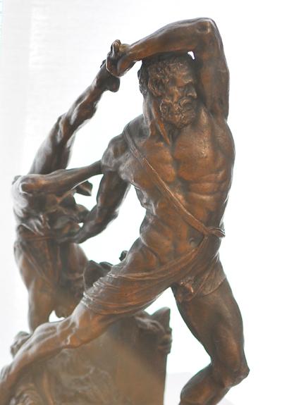 Hercule et Lycas. Antonio Canova.