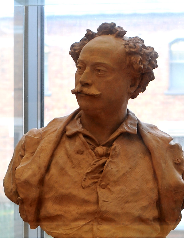 Alexandre Dumas. Jean Baptiste Carpeaux.