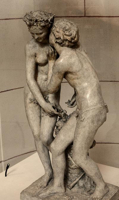 Daphnis et Chloé. Jean Baptiste Carpeaux.