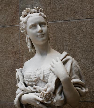 Mme Lefèvre. Jean Baptiste Carpeaux.