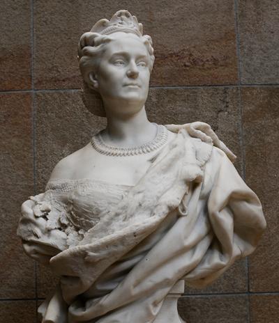 Mme Mathilde. Jean Baptiste Carpeaux.
