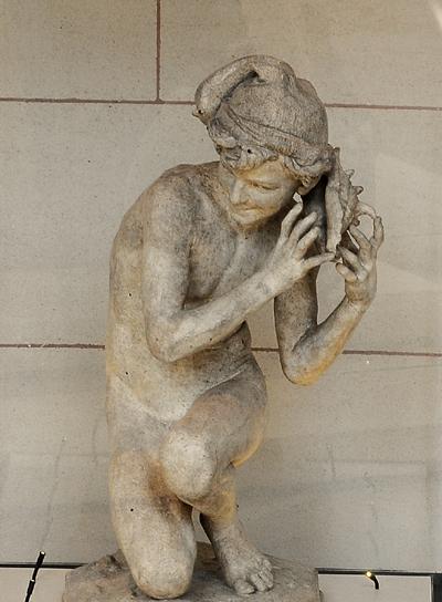 Le Pêcheur de coquille. Jean Baptiste Carpeaux.