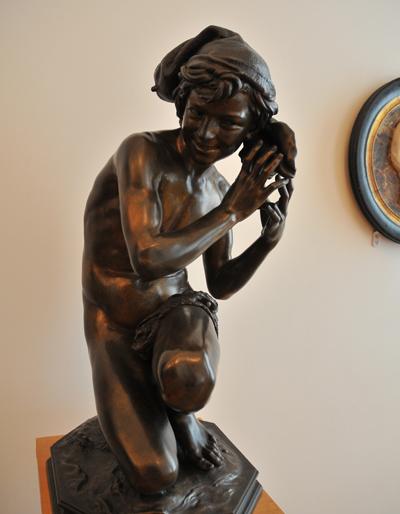 Le Pêcheur à la coquille. Jean Baptiste Carpeaux.