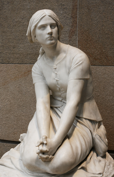 Jeanne d'Arc. Henri Chapu.