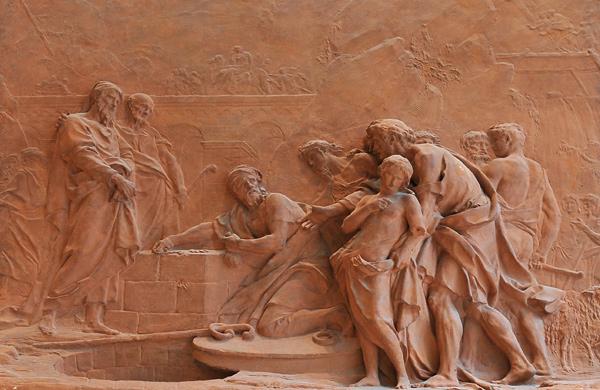Joseph vendu par ses frères. Denis Chaudet.