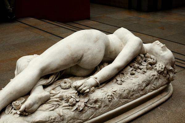 Femme piquée par un serpent. Auguste Clésinger.