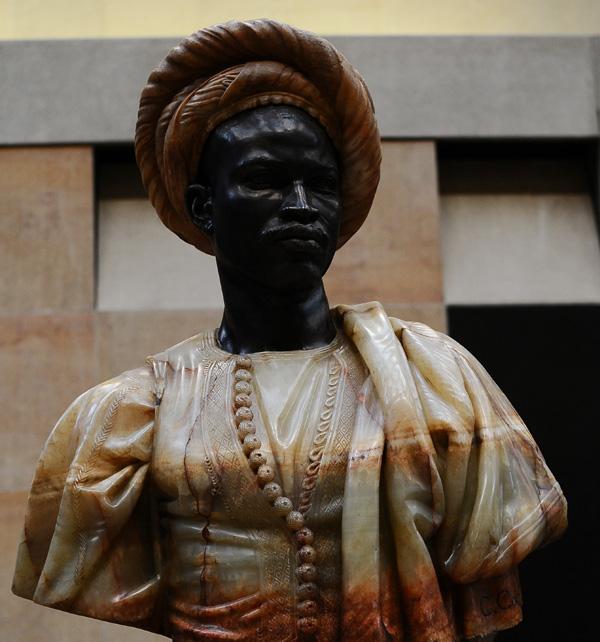 Nègre du Soudan. Charles Cordier.