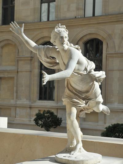 Daphnée poursuivie par Apollon. Guillaume 1er Coustou
