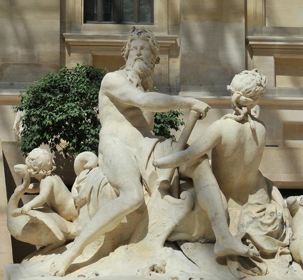 Seine et Marne. Nicolas Coustou