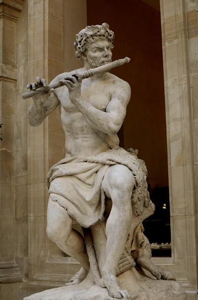 Berger fluteur. Antoine Coysevox
