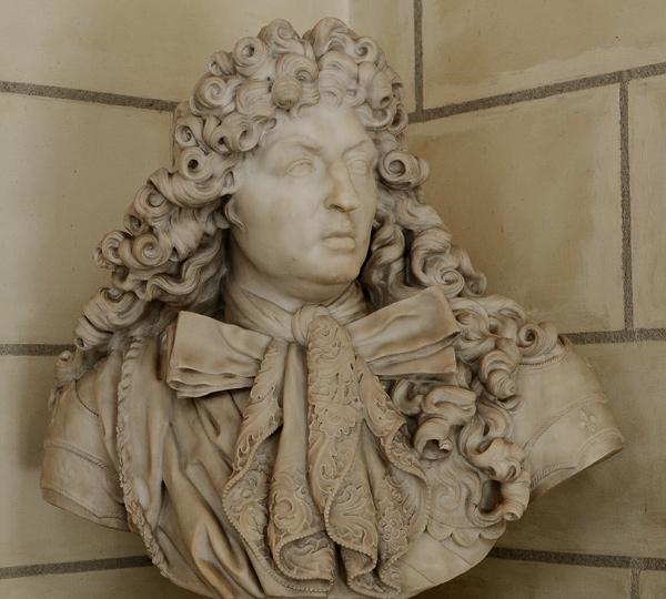 Buste de Louis XIV. Antoine Coysevox.