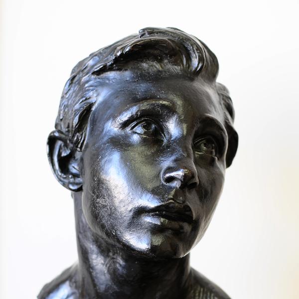 Jeune homme. Jules Dalou.