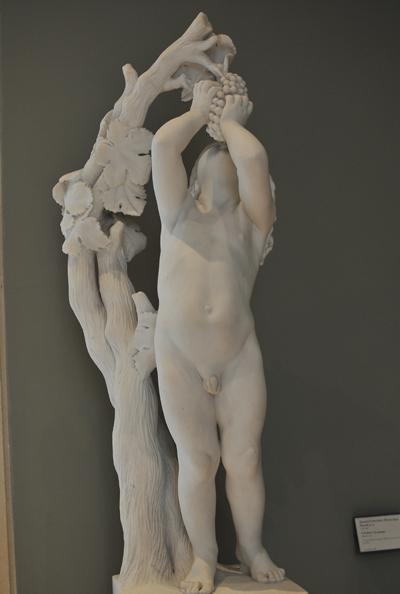 L'Enfant à la grappe. David d'Angers.