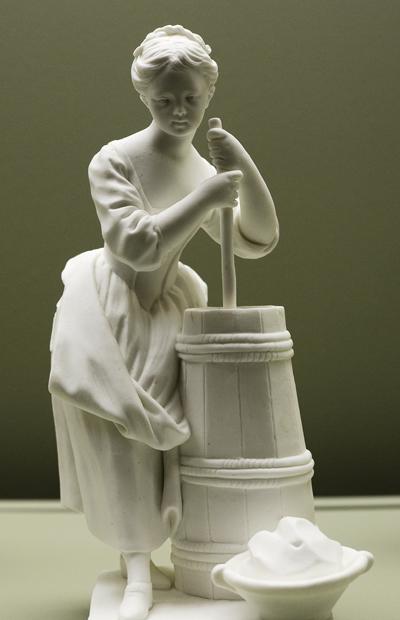 La Batteuse de beurre. Jean Baptiste Defernex - Allegrain