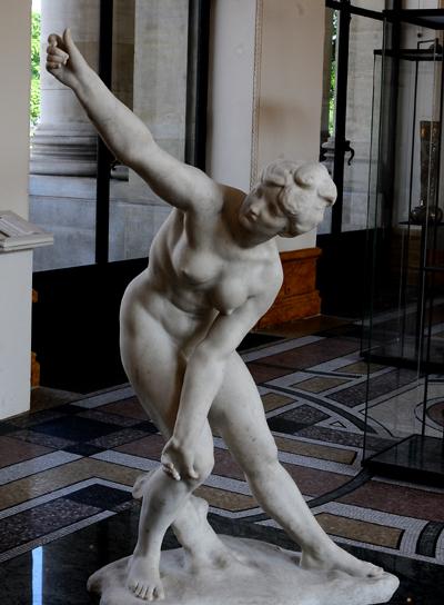 La Femme à l'Arc. Jules Desbois