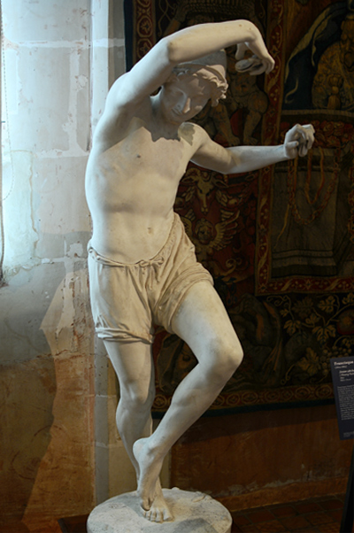 Jeune Pêcheur dansant la tarentelle. Francisque Duret.
