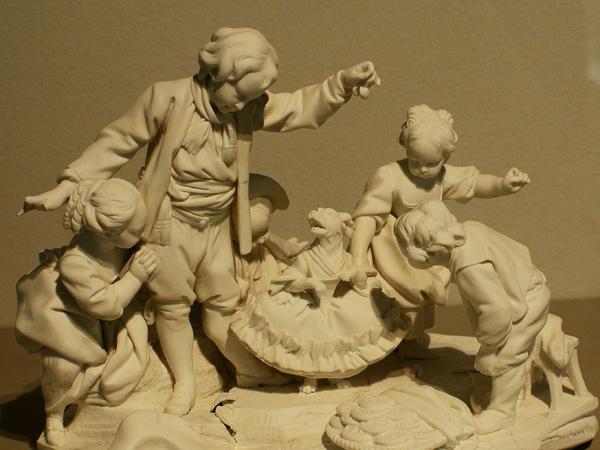 Le Chien qui danse. Etienne Maurice Falconet